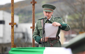Hundreds parade along Falls Road as Belfast marks centenary anniversary of Easter Rising