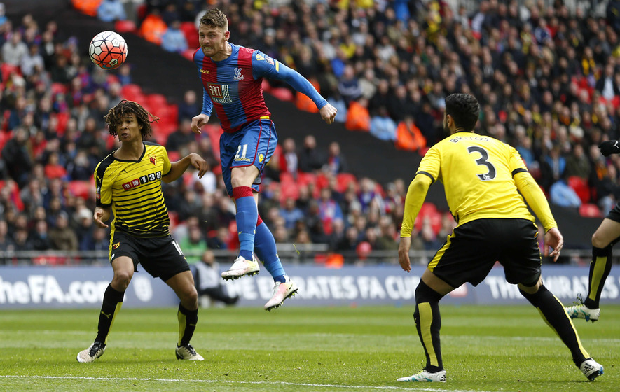 crystal palace into fa cup final after wembley win over. Black Bedroom Furniture Sets. Home Design Ideas
