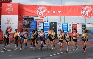 Irish athletes come up just short at London Marathon
