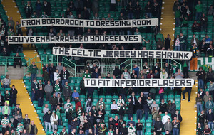 Ronny Deila calls for unity after Celtic fans protest at Parkhead