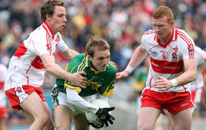 5ebc42ab1 On This Day - Apr 27 2009  Fergal Doherty is man of the match as Derry GAA  lift National Football League title