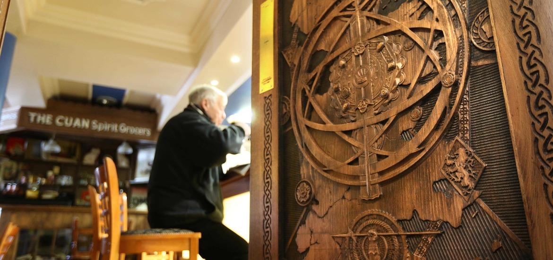 In pictures Game of Thrones doors go on display & In pictures: Game of Thrones doors go on display - The Irish News