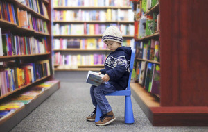 Helping kids discover the wonderful world of books
