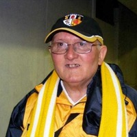 Sean Connolly, the wee man with the Antrim scarf and smile for everyone