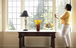 The brighter way to cleaner windows