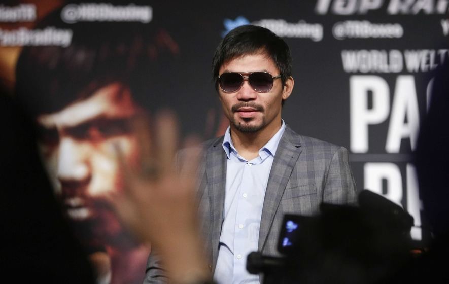 Manny Pacquiao presses on with senatorial campaign despite kidnap threat