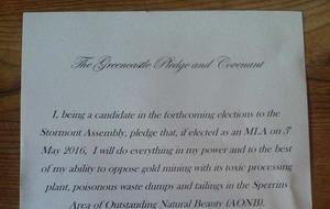 SDLP says 'premature' to sign Sperrins anti-mining pledge