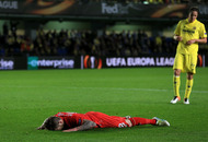 Late Villarreal goal dents Liverpool's Europa League bid