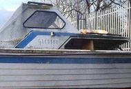 Search for owner of abandoned boat in Bangor