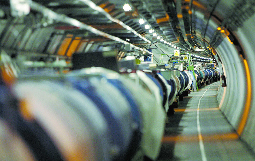 Large Hadron Collider 'immobilised by weasel'