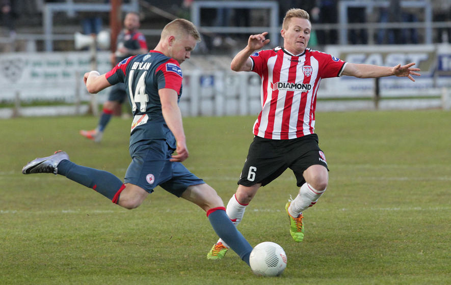 Derry City lose to Sligo Rovers at Brandywell