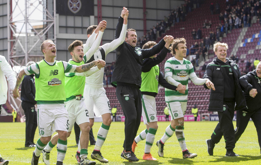 Ronny Deila is happy Celtic players can focus on football