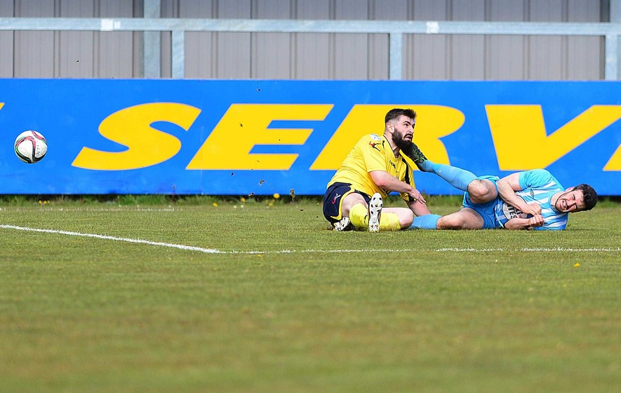 Warrenpoint relegated by controversial penalty decision