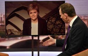 Second referendum on Scottish independence 'likely' says SNP's Nicola Sturgeon