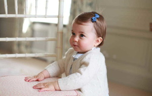 Britain's Princess Charlotte marks her first birthday