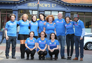 Irish News  staff to take part in Belfast marathon in memory of colleague