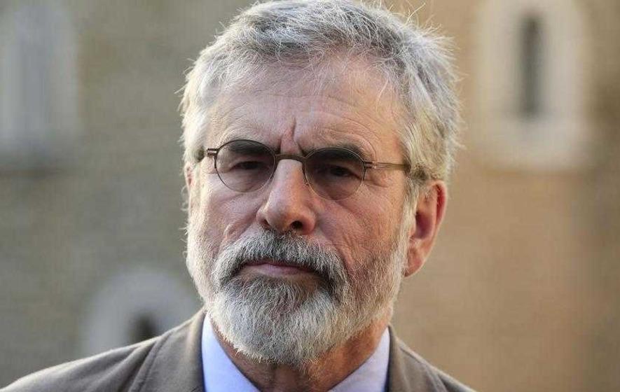 Gerry Adams defends using n-word in tweet about film