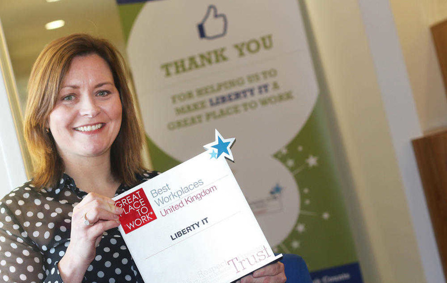 Liberty IT in Belfast listed among best places to work in UK