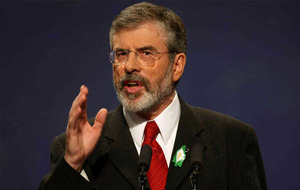 Sinn Féin: Gerry Adams not a liability despite race gaffe