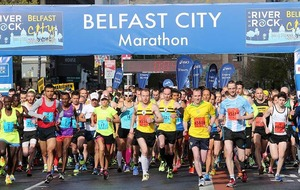 In Pictures: Belfast City Marathon 2016