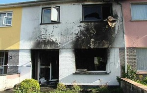 Neighbour heard screams from Cork house fire which claimed two lives