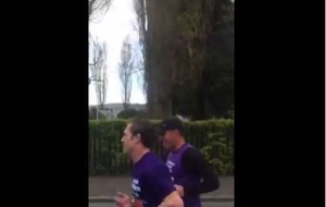 Video: Brendan Rodgers shows great character in marathon