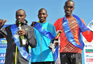 Kenya's Joel Kositany victorious in 35th Belfast Marathon