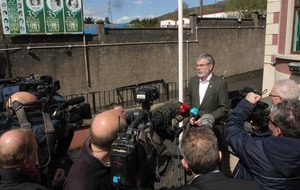 Sinn Féin's Gerry Adams apologises for using N-word on Twitter