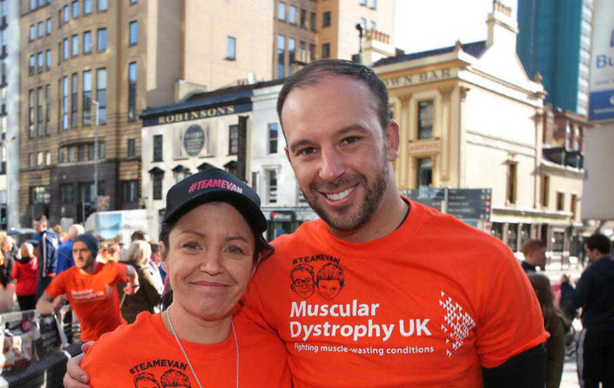 Buncrana pier tragedy mum and hero rescuer run Belfast marathon in son's honour