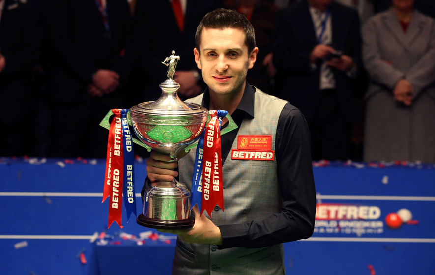 Mark Selby wins World Championship final at the Crucible