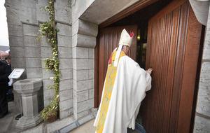 Hundreds cross threshold of mercy for first Lough Derg pilgrimage