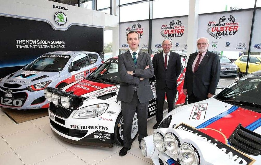 Ulster Rally motors on with Mulholland until 2018