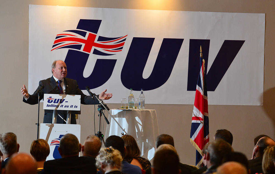 'TUV has relentlessly exposed waste and squander in Stormont' - Jim Allister