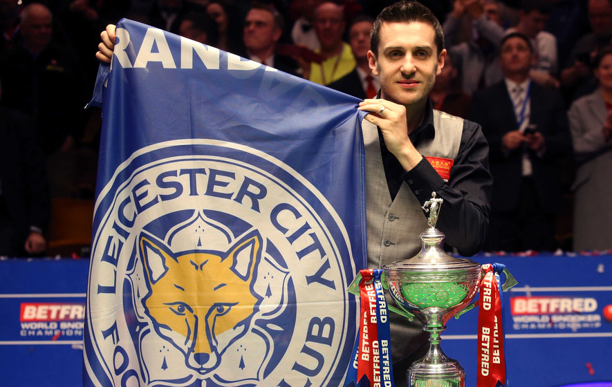 Mark Selby's victory makes it a double celebration in Leicester