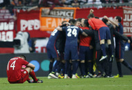 Atletico Madrid into Champions League final