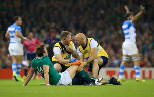 Tommy Bowe's involvement in end-of-season games in doubt
