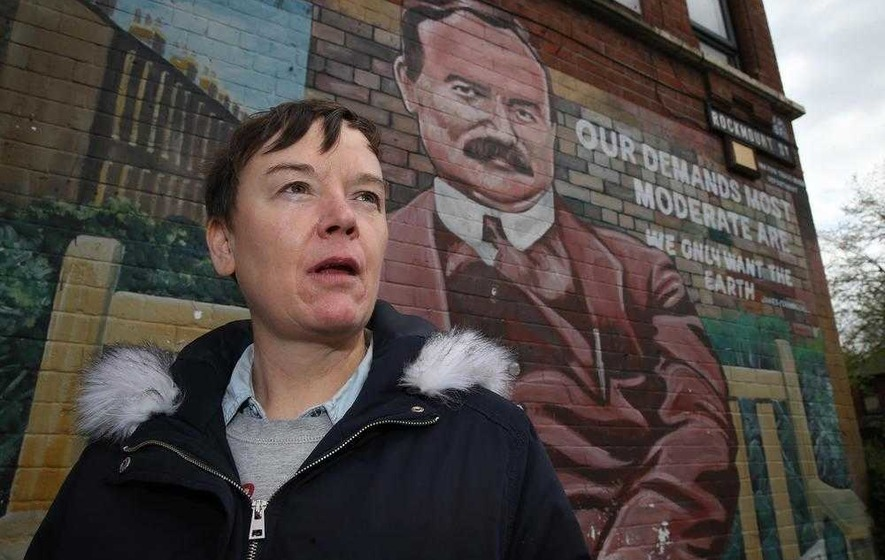 Belfast woman recalls 'shock' at discovering James Connolly is her great-grandfather