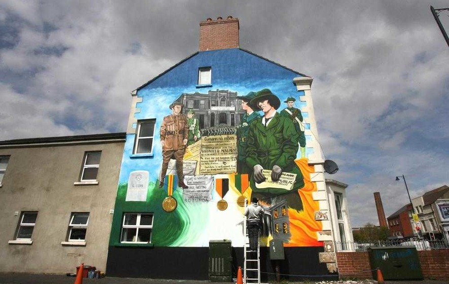 Unionist fury as Housing Executive spends £5,000 on Easter Rising mural
