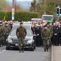 Unionists welcome 'swift action' by police after Mickey Barr funeral paramilitary display