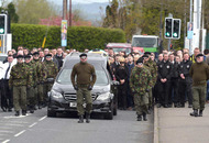 Mickey Barr funeral: Police searches held in Derry and Strabane district