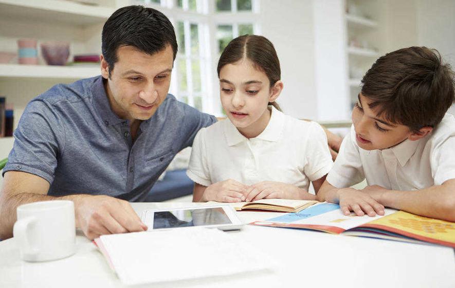 Hug away your child's exam stress