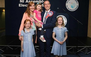 Paul Givan secures first seat in Lagan Valley amid fears his party will lose a seat