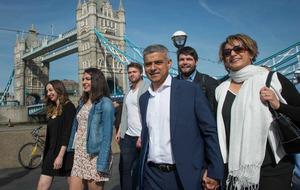 Labour's Sadiq Khan 'set to be named London mayor'