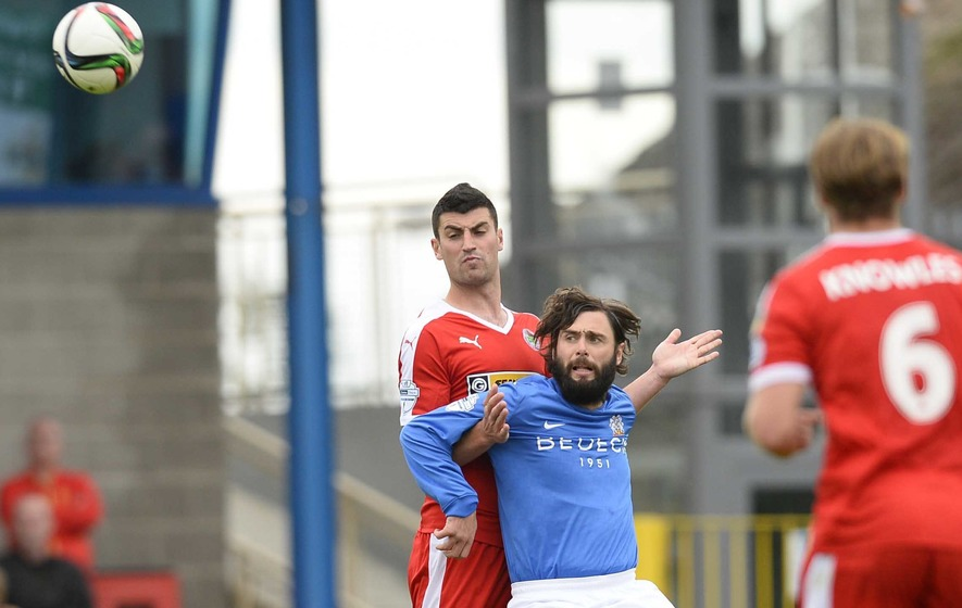 Gary Hamilton is confident of guiding Glenavon to Cup glory