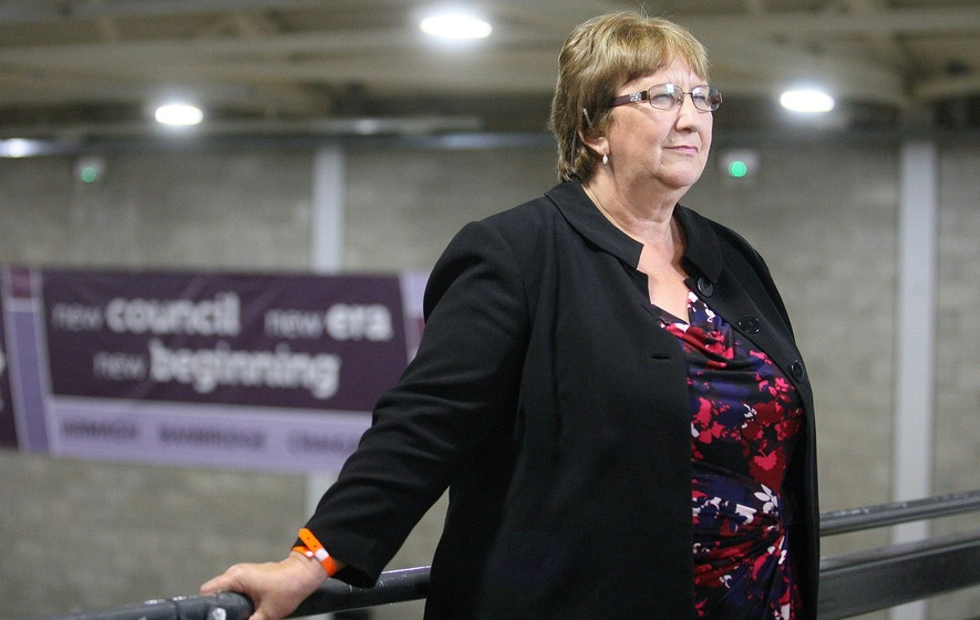 Dolores Kelly 'gutted' at defeat after marathon Upper Bann count