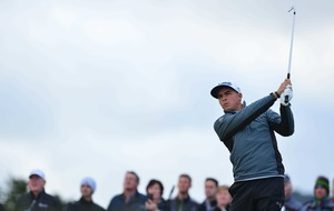 Rickie Fowler in control of Wells Fargo as Rory McIlroy flounders