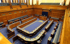Just one of 18 final assembly seats taken by a smaller party