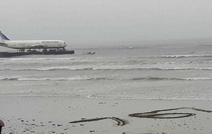 Co Sligo village at standstill as Boeing 737 arrives by barge