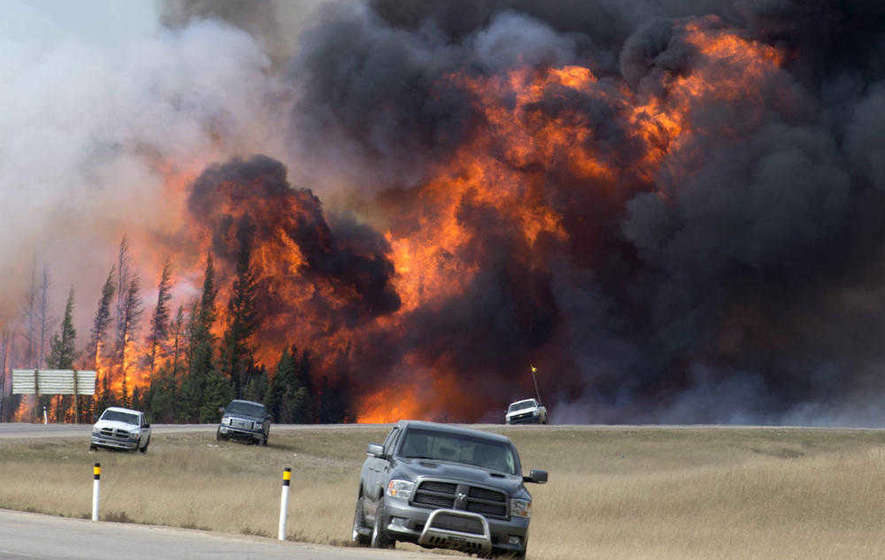 Canadian wildfires 'could burn for months', officials fear
