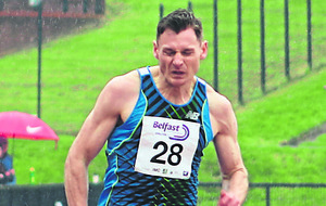David Gillick getting back to his best at Belfast International